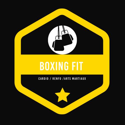 Logo boxing fit