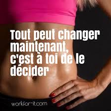 Tout peut changer decide toi